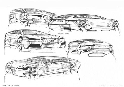 Pin von Wilfried Hampe auf Auto Skizzen | Pinterest | Auto skizze ...