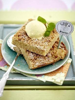 Apfelmuskuchen mit Keksstreuseln Rezept Kuchen, Cake and - chefkoch schnelle küche
