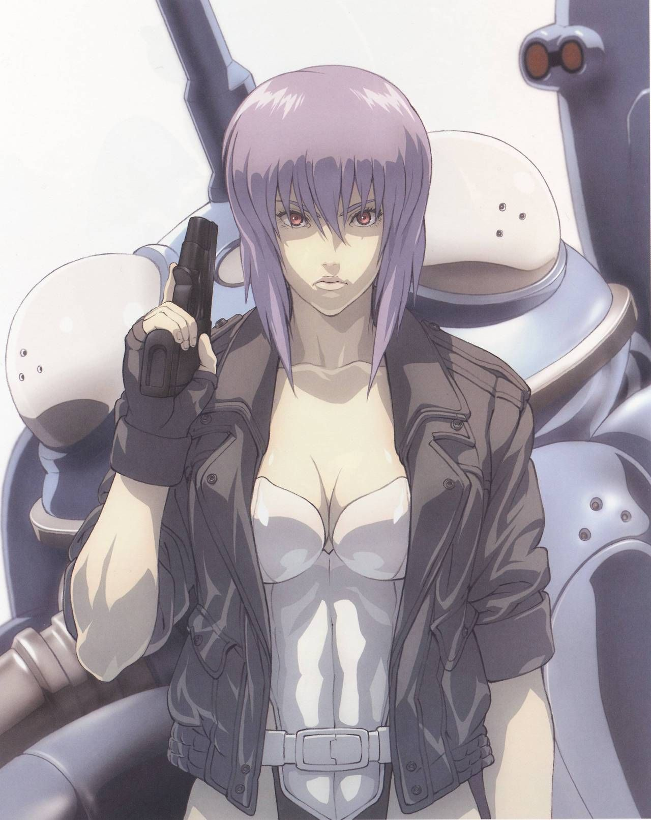 Motoko Kusanagi from Ghost in the Shell Ghost in the