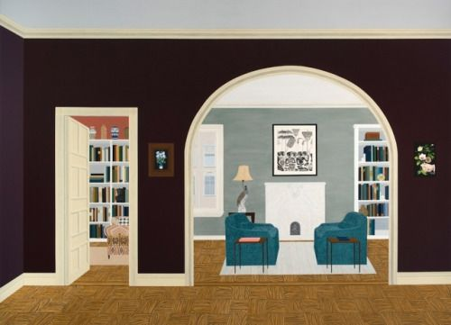 Paintings that Revel in the Wonder of Our Domestic Spaces via:...