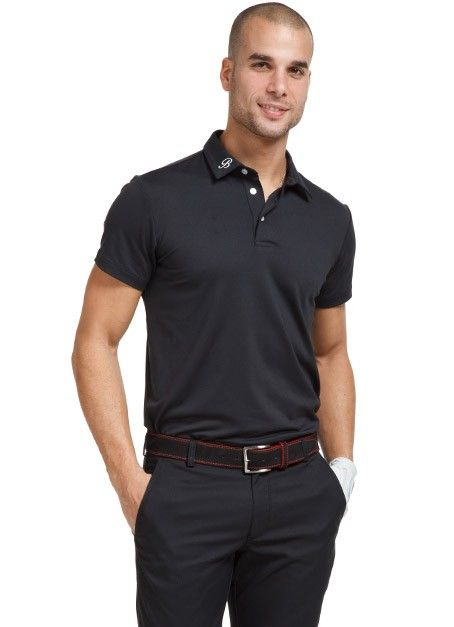 Buy black polo pants 61 off for Business casual polo shirt