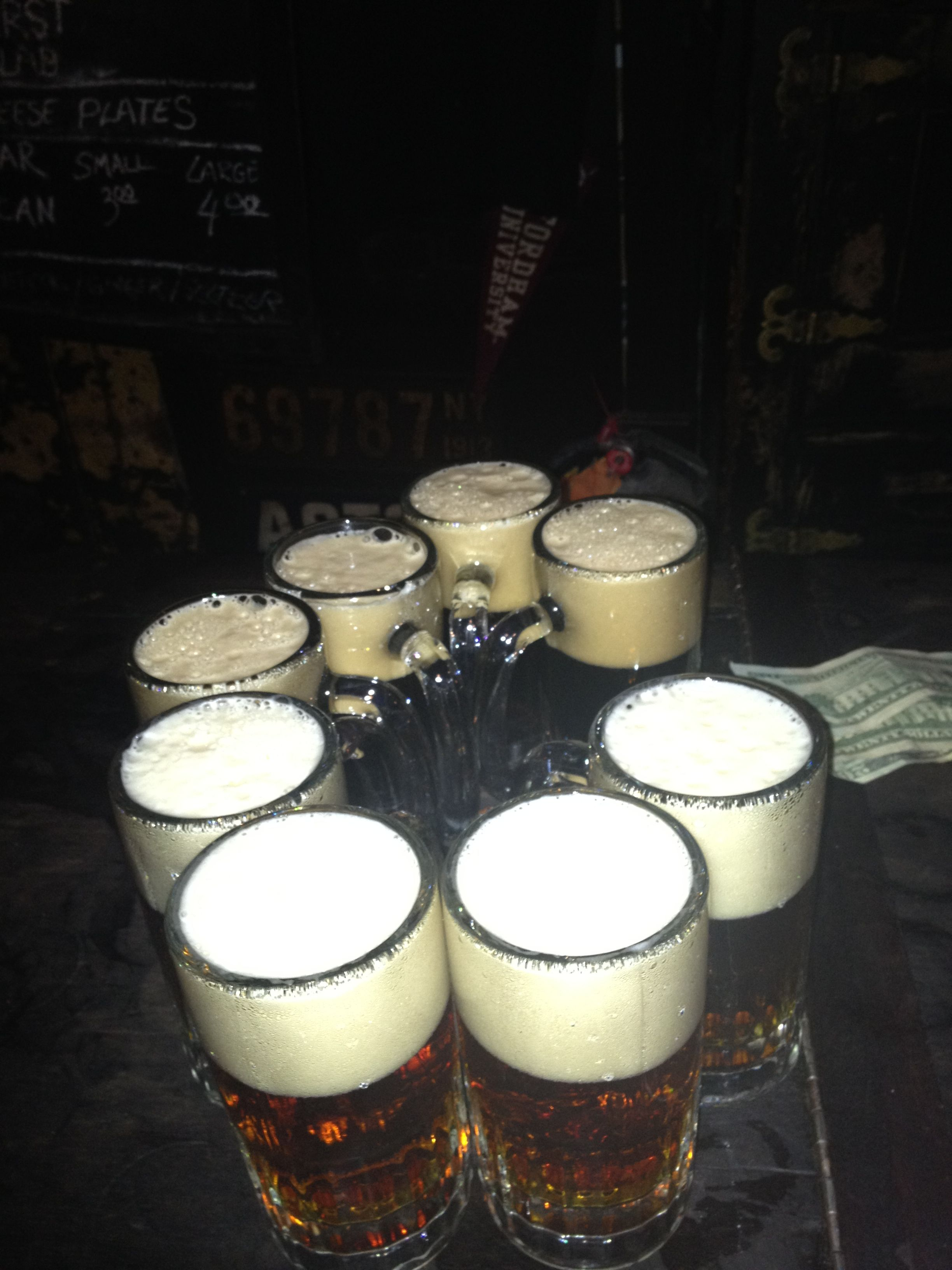 Round at McSorley's