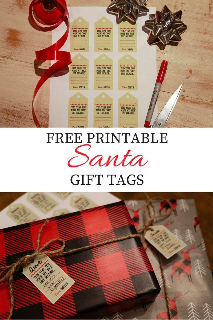 FREE Printable: Santa\'s \