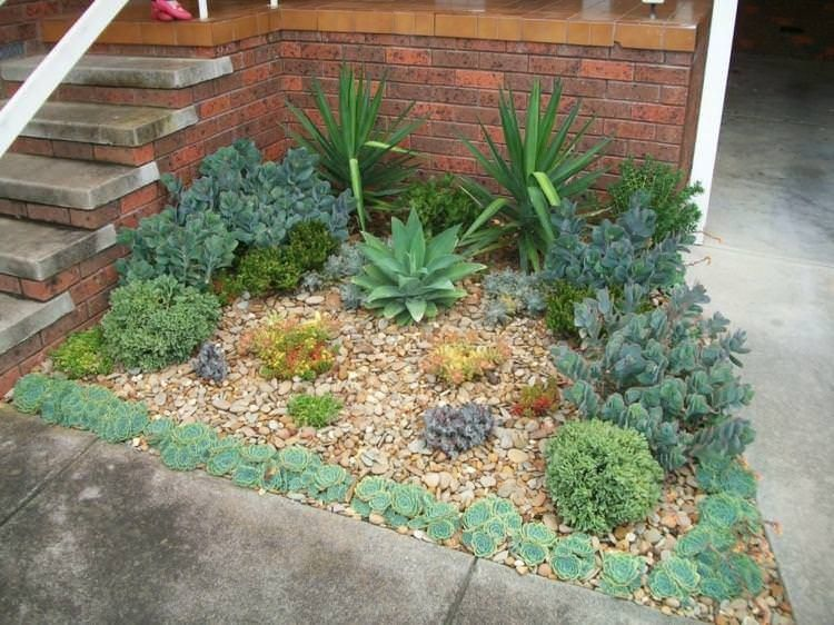 47 Fabulous Succulent Planting Ideas With Diy Tutorials You Must Look At Succulent Garden Design Rock Garden Design Garden Ideas Cheap