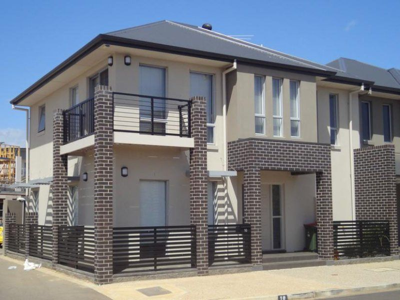 Modern rendered semi detached steel townhouse two storey for awesome and delightful brick townhouse design inspiring
