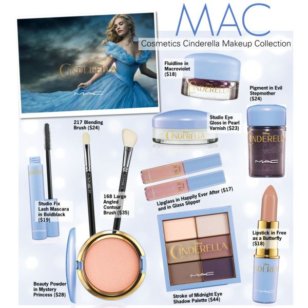 MAC Cosmetics Cinderella Makeup Collection   Mac cosmetics ...