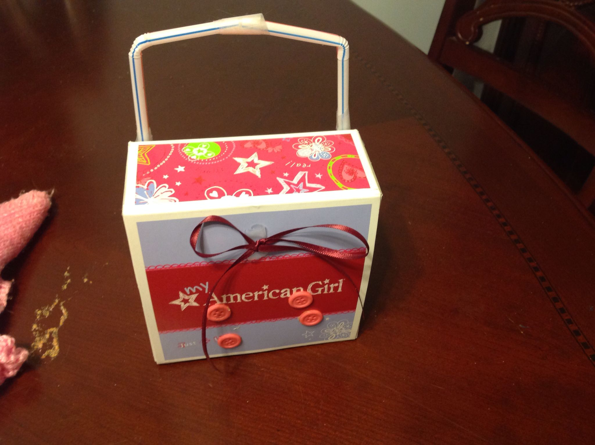 My DIY American Girl doll suitcase!