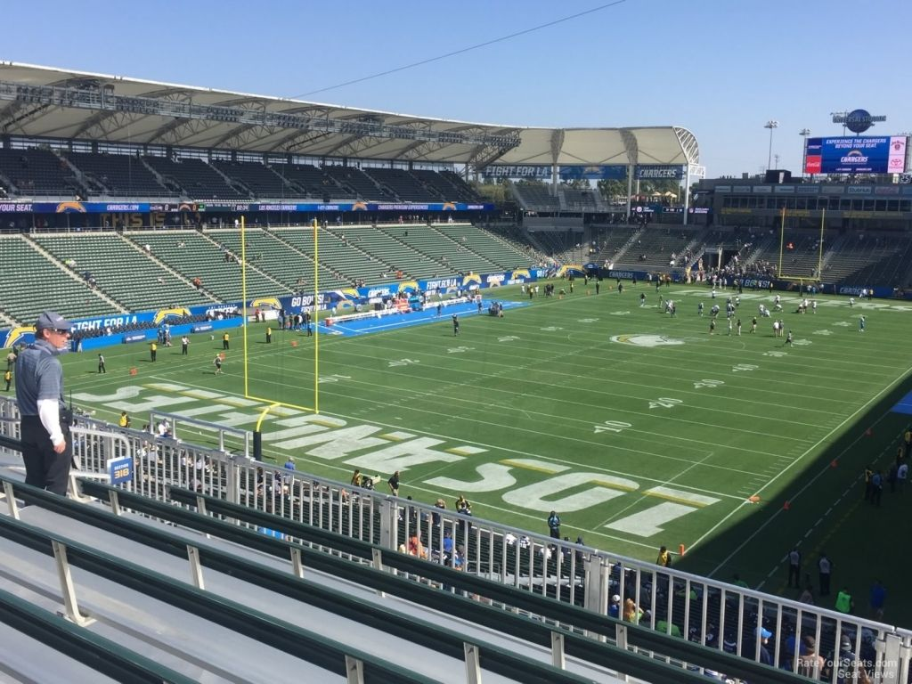 Stubhub Center Chargers Seating Chart Seating Charts Sport Park Los Angeles Chargers