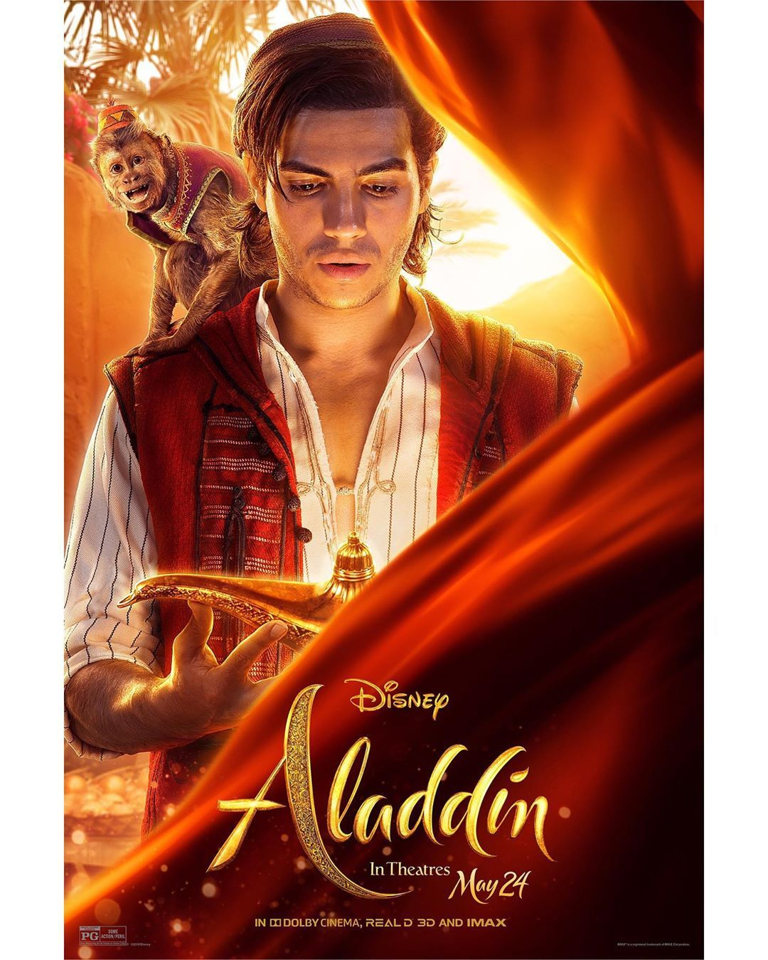 Check Out The Disney S Aladdin Character Posters See The Film In