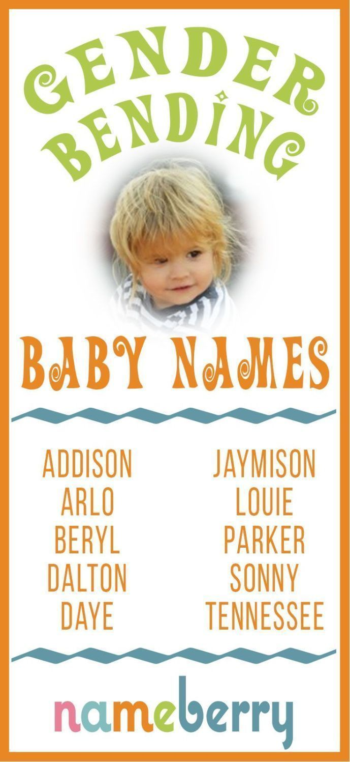Gendered baby names Baby gendered Names
