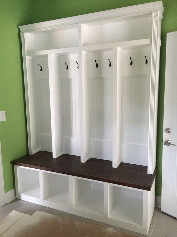 Entryway Locker Storage Perfect For Mudroom 77 X 68 Wide Depth 18 We Can Also Custom Make To Any Size Our Customers