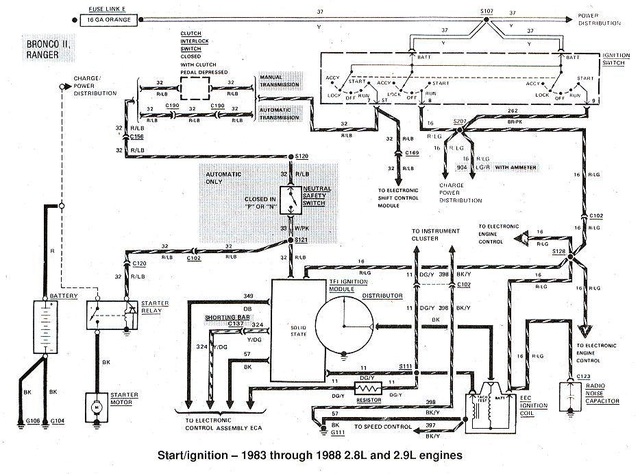 2001 Ford Ranger Wiring Schematic