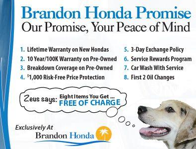 Brandon Honda Honda Dealership Certified Pre Owned Cars New Honda
