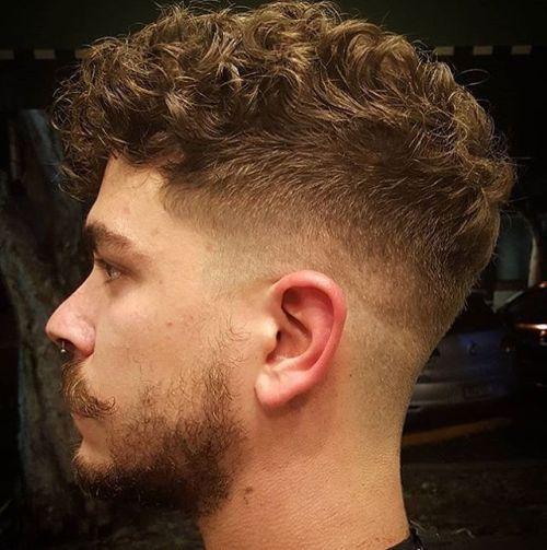 10 Peinados pelo rizado corto hombre