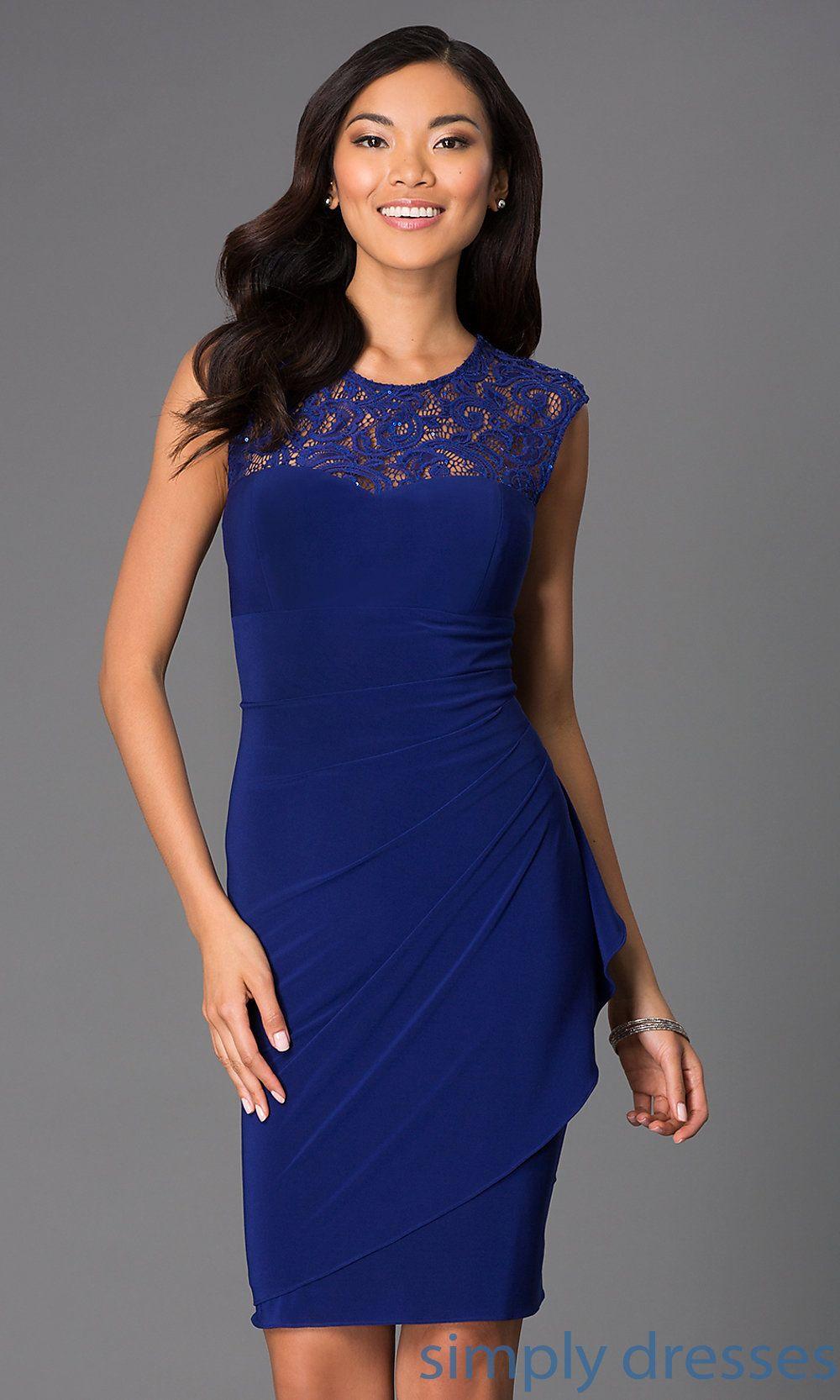Homecoming Dresses, Formal Prom Dresses, Evening Wear: Sleeveless ...