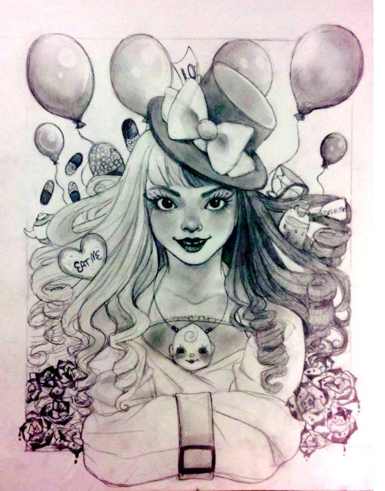 Mad Hatter Melanie Martinez Mad Hatter Melanie Martinez Drawings Melanie Martinez