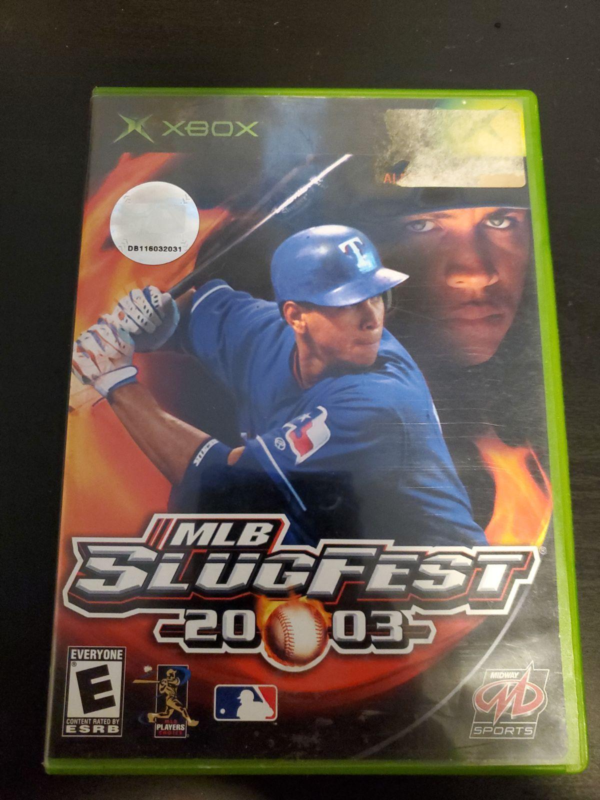 Mlb Slugfest 2003 Xbox Cleaned And Tested Xbox Mlb Baseball Cards