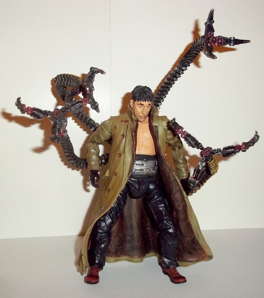 marvel legends dr octopus doc ock doctor spiderman movie