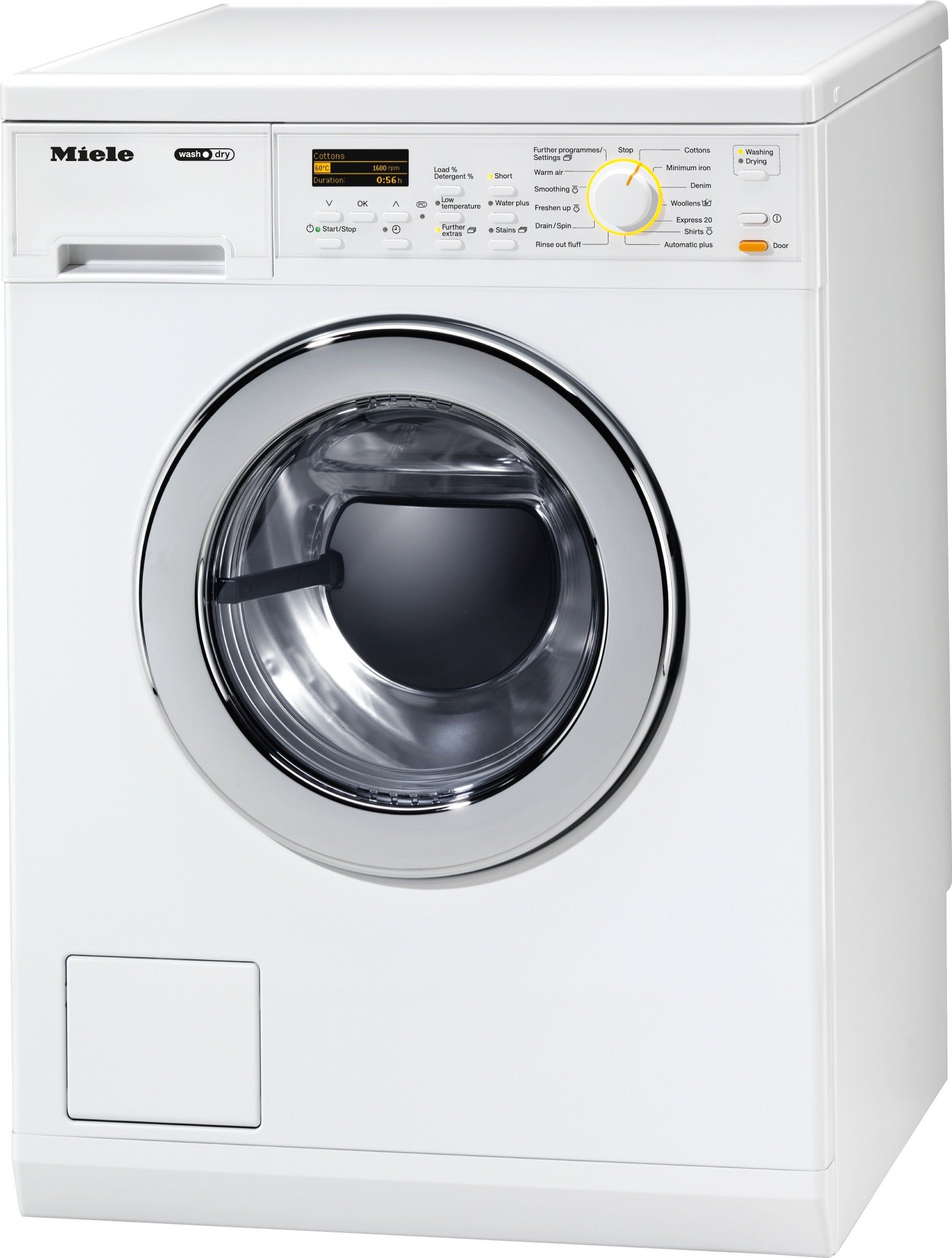 Miele Washer Dryer With Stains Option For Optimum Results And Maximum Convenience Wt27969 Washe Miele Washer Dryer Washer And Dryer Combination Washer Dryer