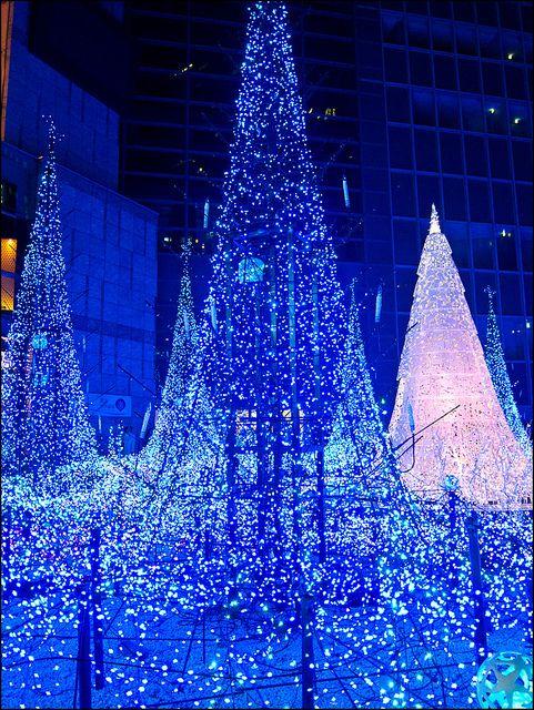 Luces navideñas de Caretta Shiodome by Lau_chan