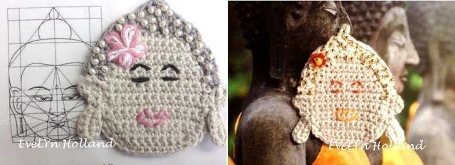 Haken En Kralen Tutorial Boeddha Haken Haken En Breien
