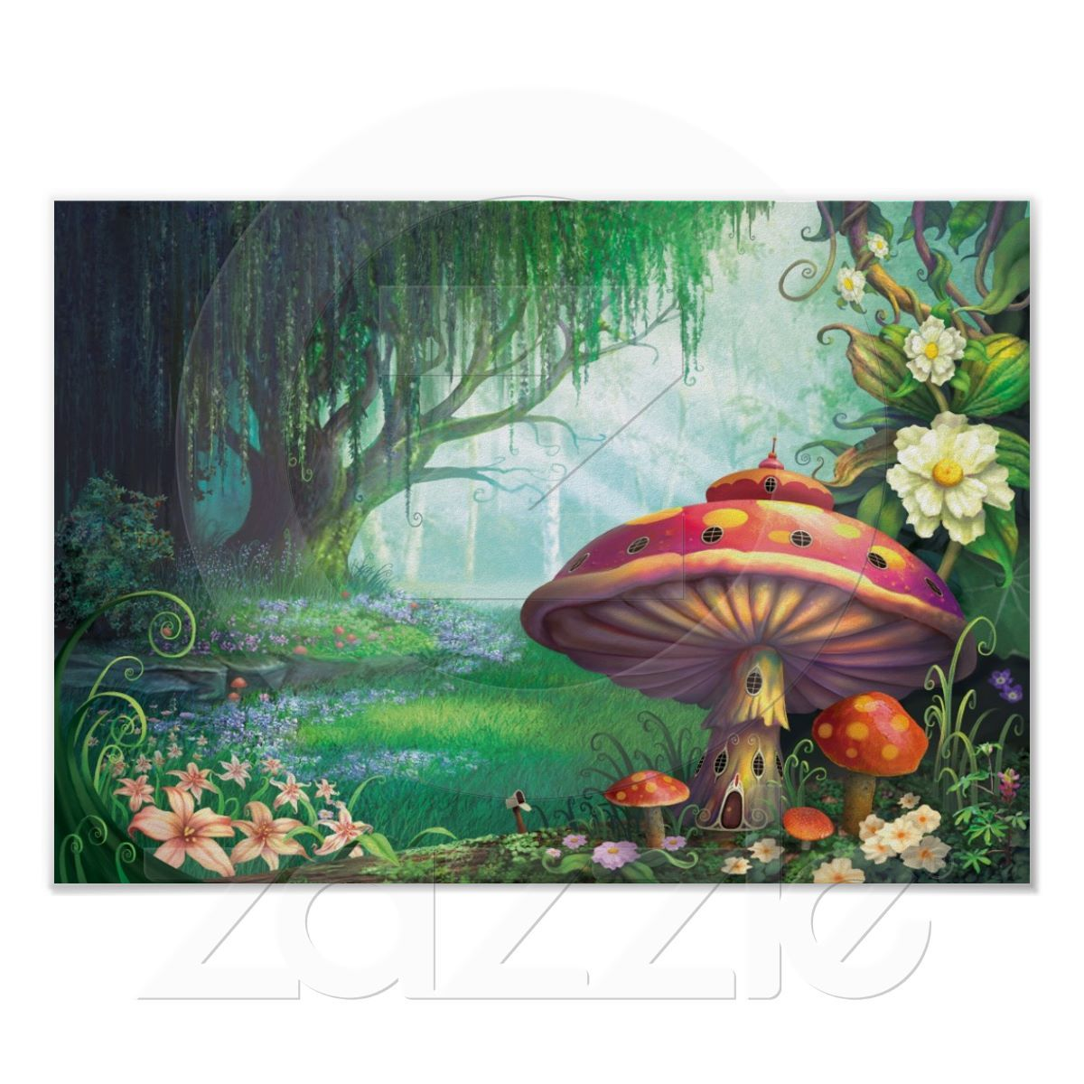 Enchanted Forest Poster Forest mural