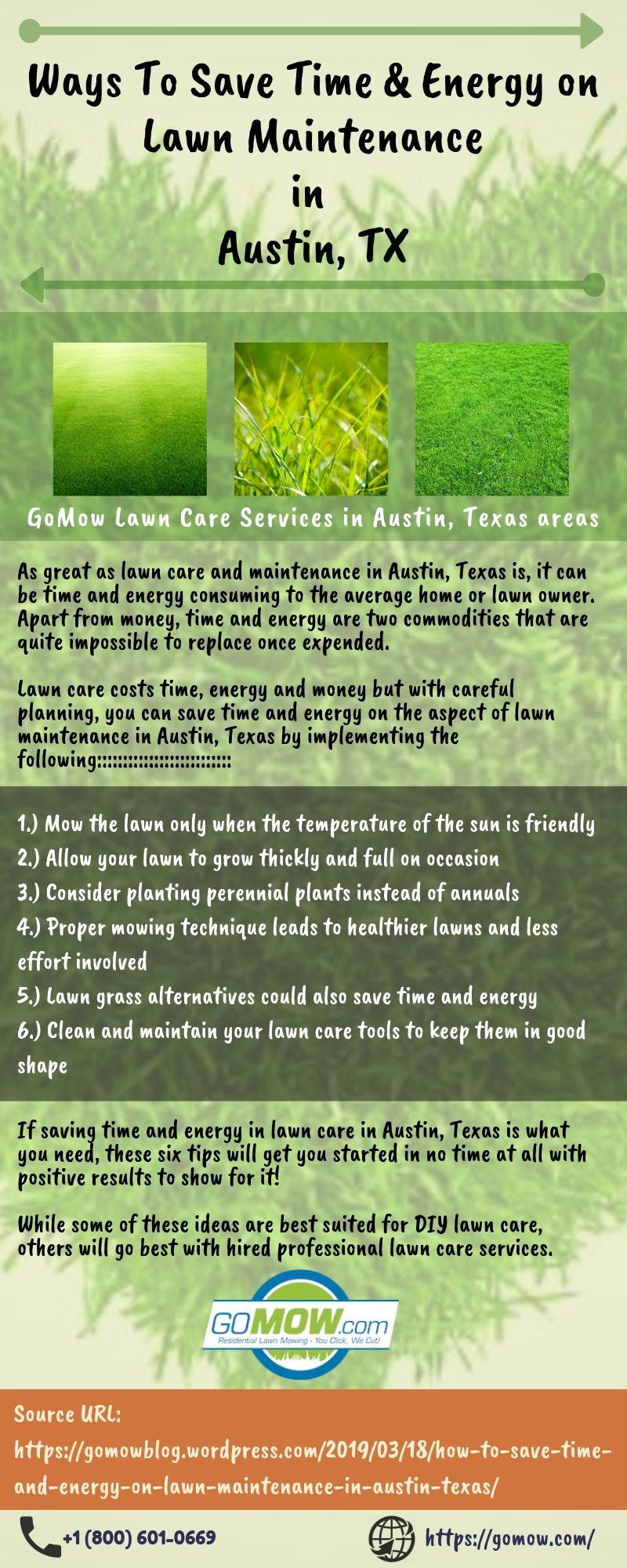Ways to save your time and energy on lawn maintenance in Austin, TX