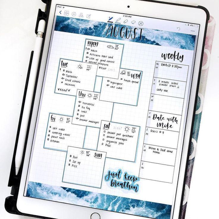 "Digital BuJo App GoodNotes iPad Pro 10.5"" Stylus Apple"
