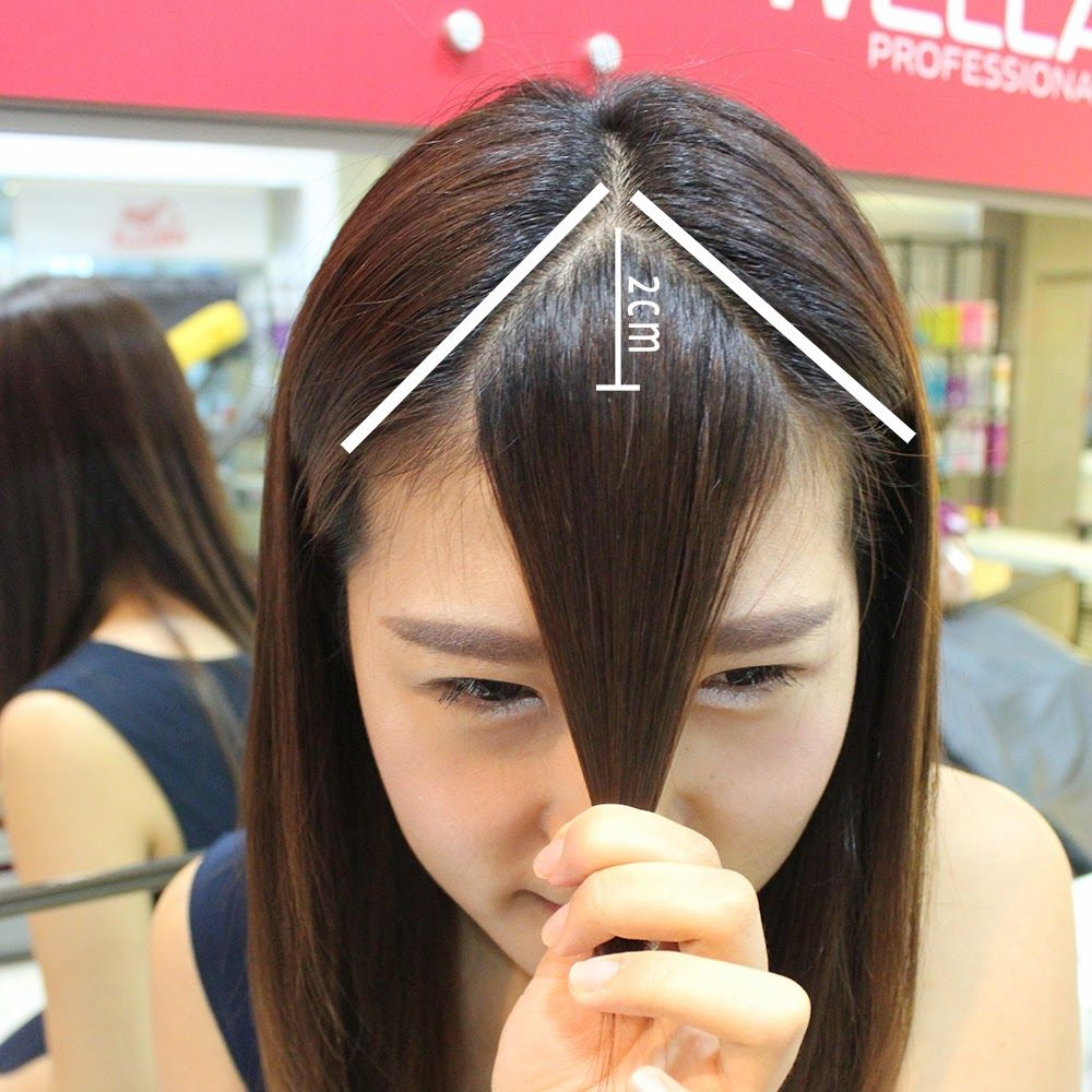 Korean Bangs 2015 Google Search Beauty X Bangs Hair Korean Bangs