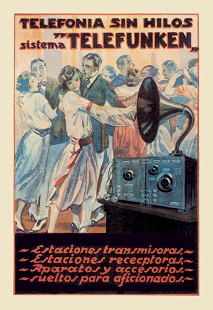 Telefonia Sin Hilos - Sistema Telefunken