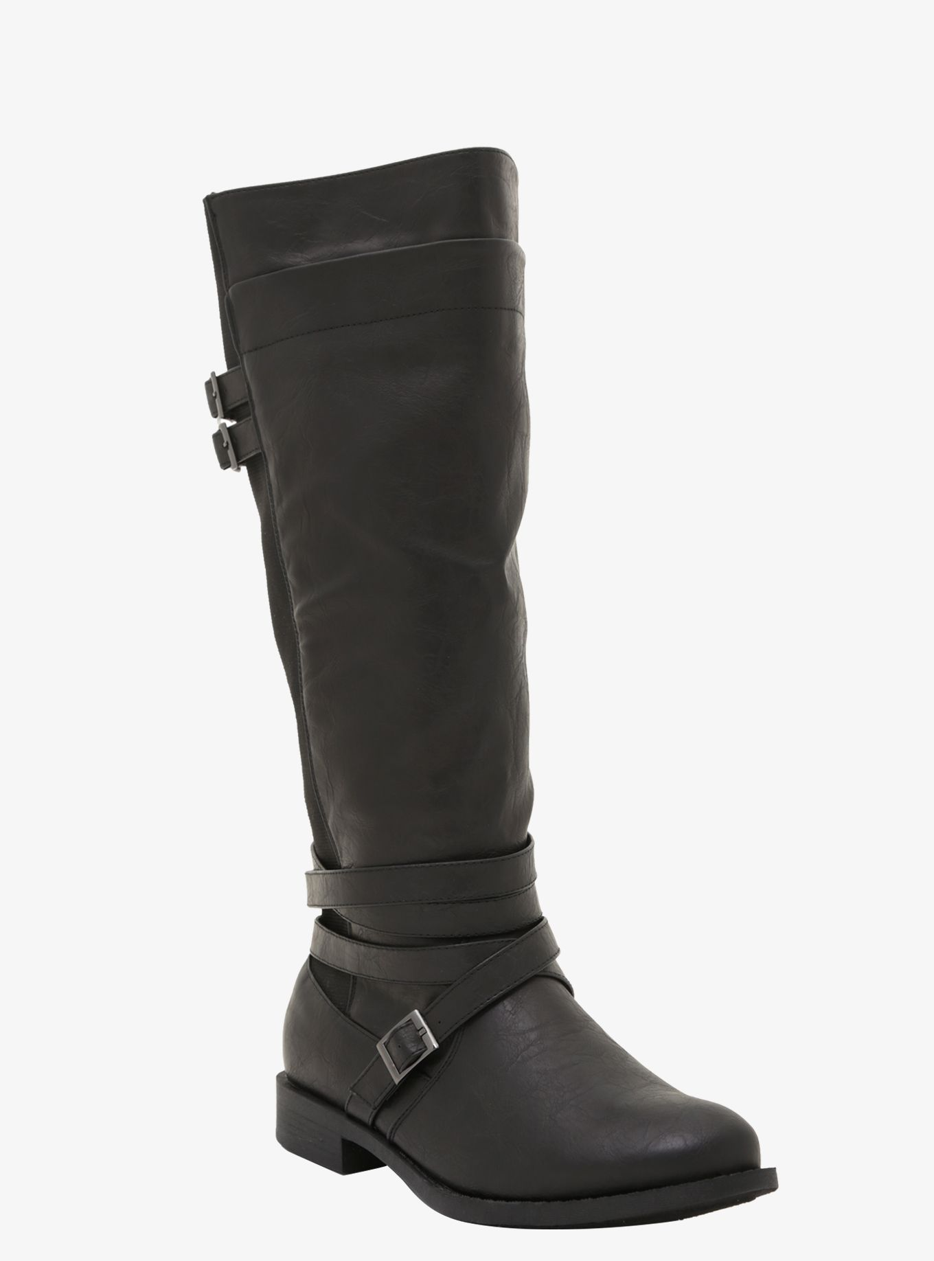 00d5c9f68fa2 Strappy Riding Boots from Torrid  Remember this when looking for truly wide  calf boots.