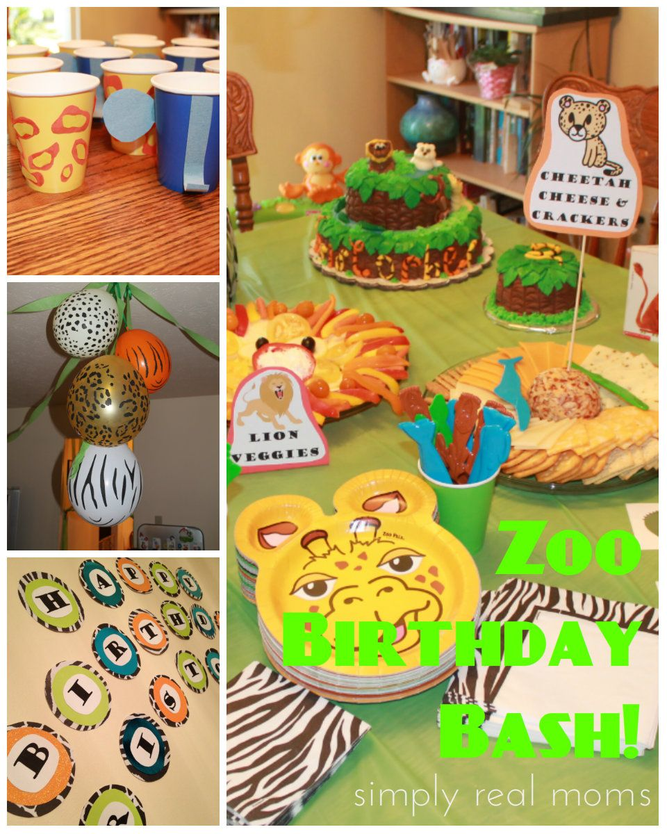 Zoo party ideas TONS of great and easy ways anyone can do even the