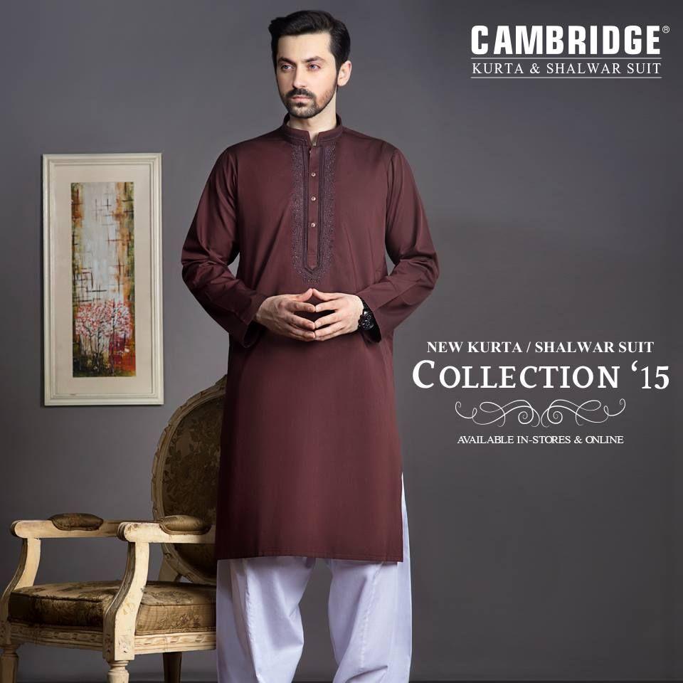 Eid kids kurta shalwar kameez designs 2013 2014 - New Cambridge Kurta Shalwar Suite Collecion 15 For Men