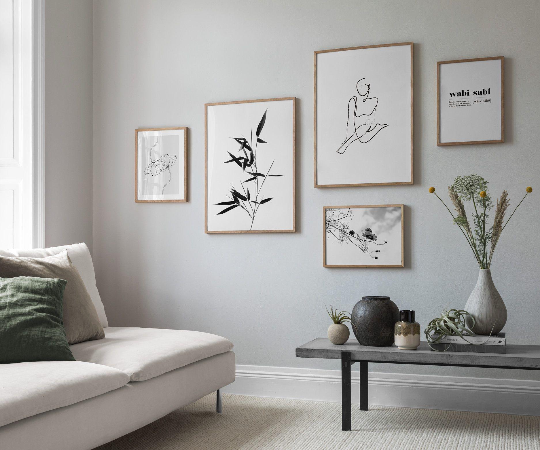 Seite 7 - Inspiration für schöne Wohnzimmer Bilderwand mit Postern | Desenio -  Seite 7 – Inspiration für schöne Wohnzimmer Bilderwand mit Postern | Desenio  - #bilderwand #decorationsejour #desenio #diylivingroomdecor #FÜR #inspiration #mit #postern #schone #Seite #wohnzimmer #deseniobilderwandwohnzimmer