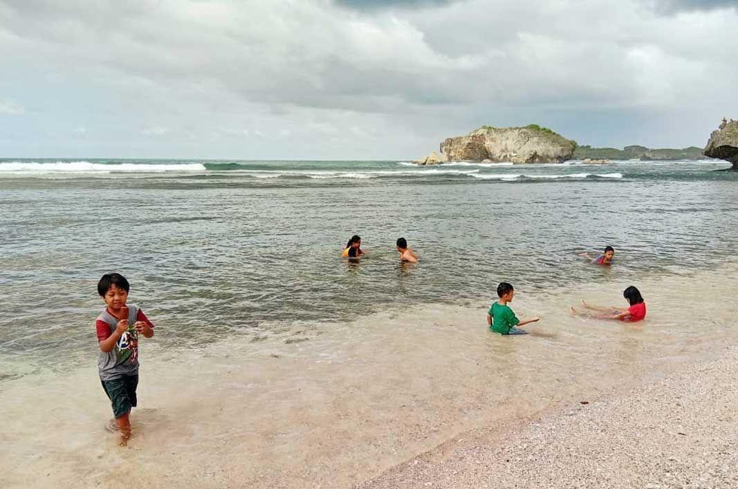 Pin Oleh Amri Amri Di Wisata Indonesia Pantai Air Tawar Lautan