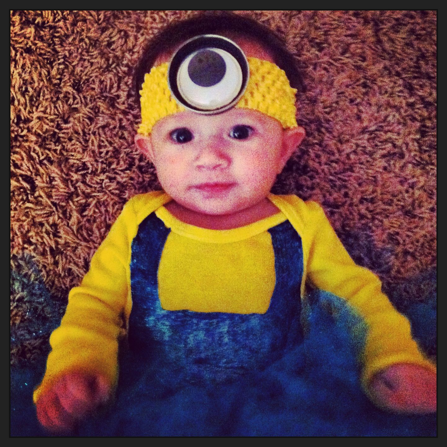 Minion costume baby minion dispicable me Halloween costume ...