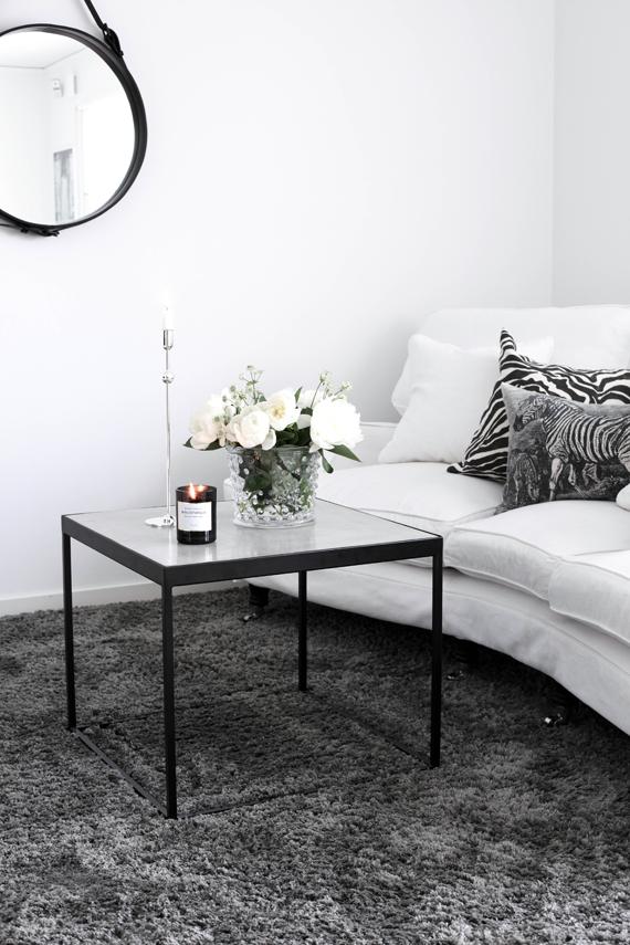 Mitt Vita Hus …  Pinteres… Glamorous Gray Carpet Bedroom Inspiration