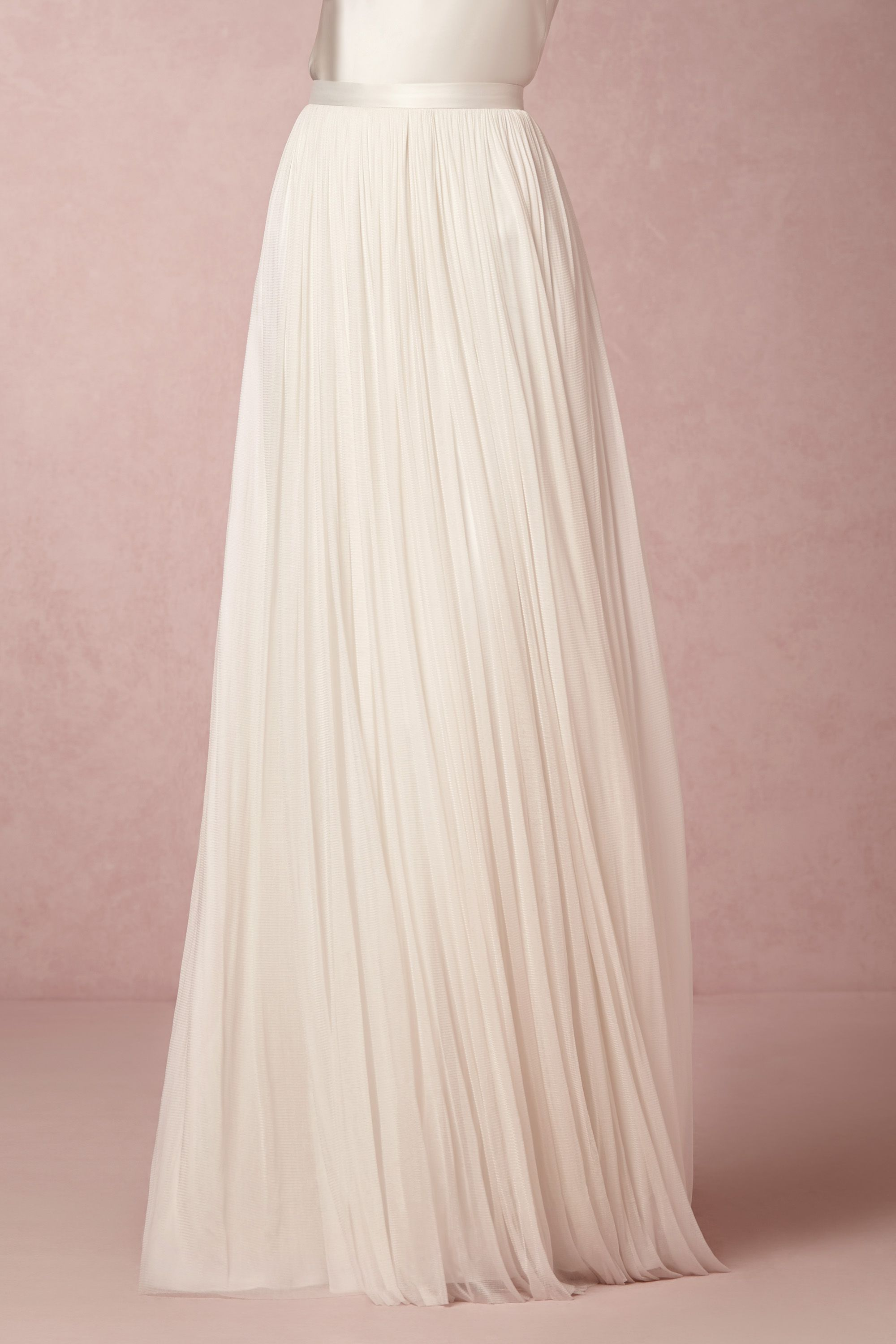 510e1f9ac2c I love this for my wedding dress - Convertible camisole   Anika Tulle Skirt  from  BHLDN