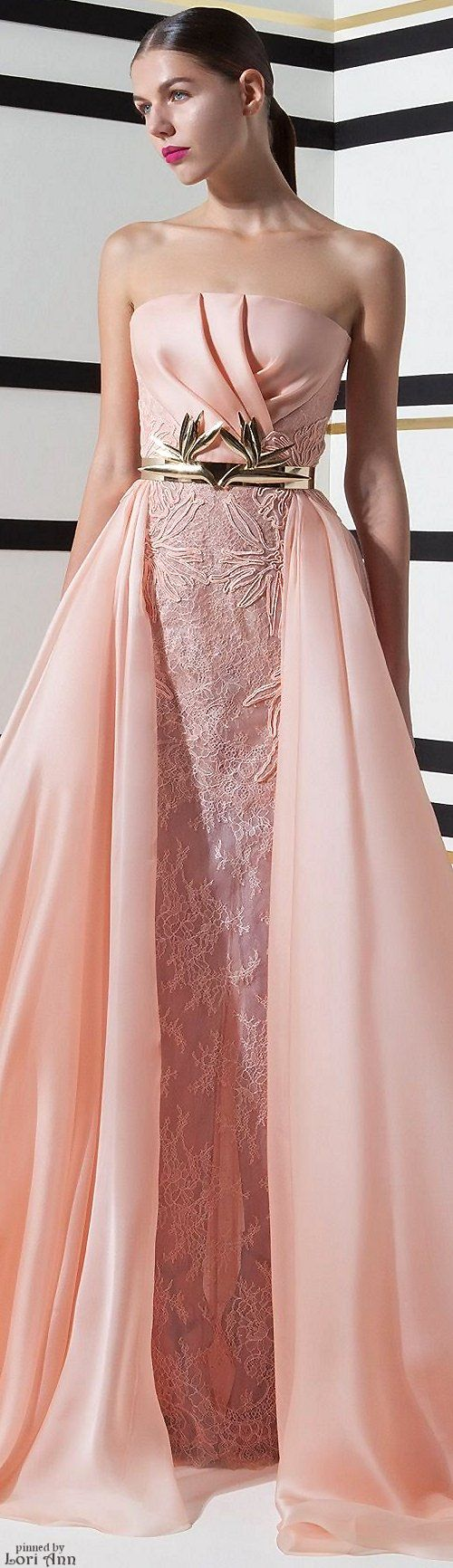 Basil Soda Spring 2016 RTW.....does this make a nice wedding dress ...