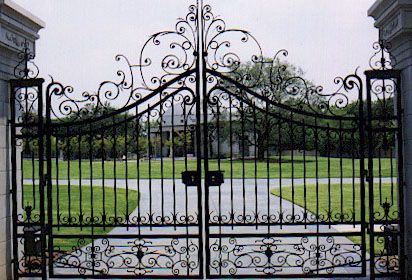Metal Fences And Gates | Metal Fence Gate | Sharing Interior Designs ,  Architecture And Modern