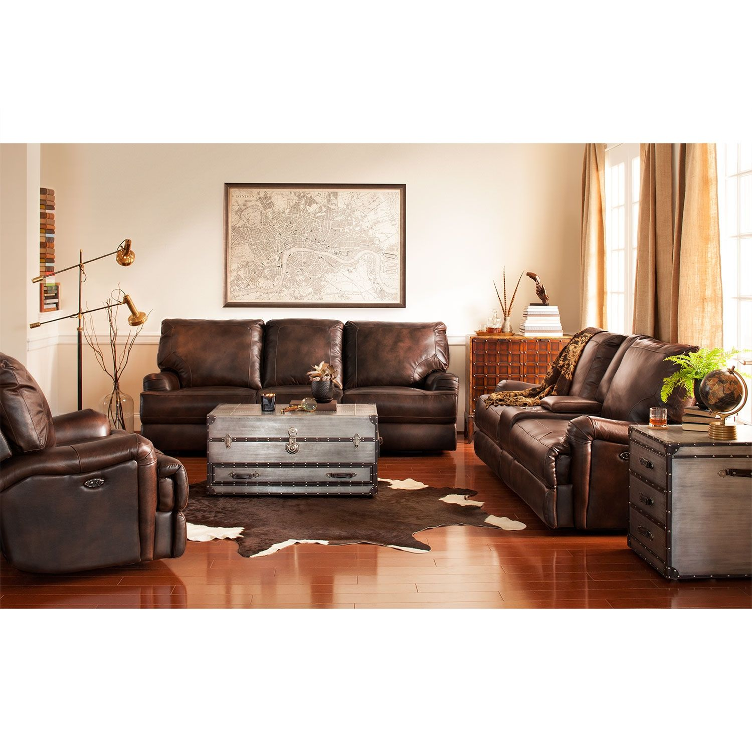 Hooker Furniture Seven Seas Stationary Leather Sofa In Malawi Tonga |  Tonga, Hooker Furniture And Decorating
