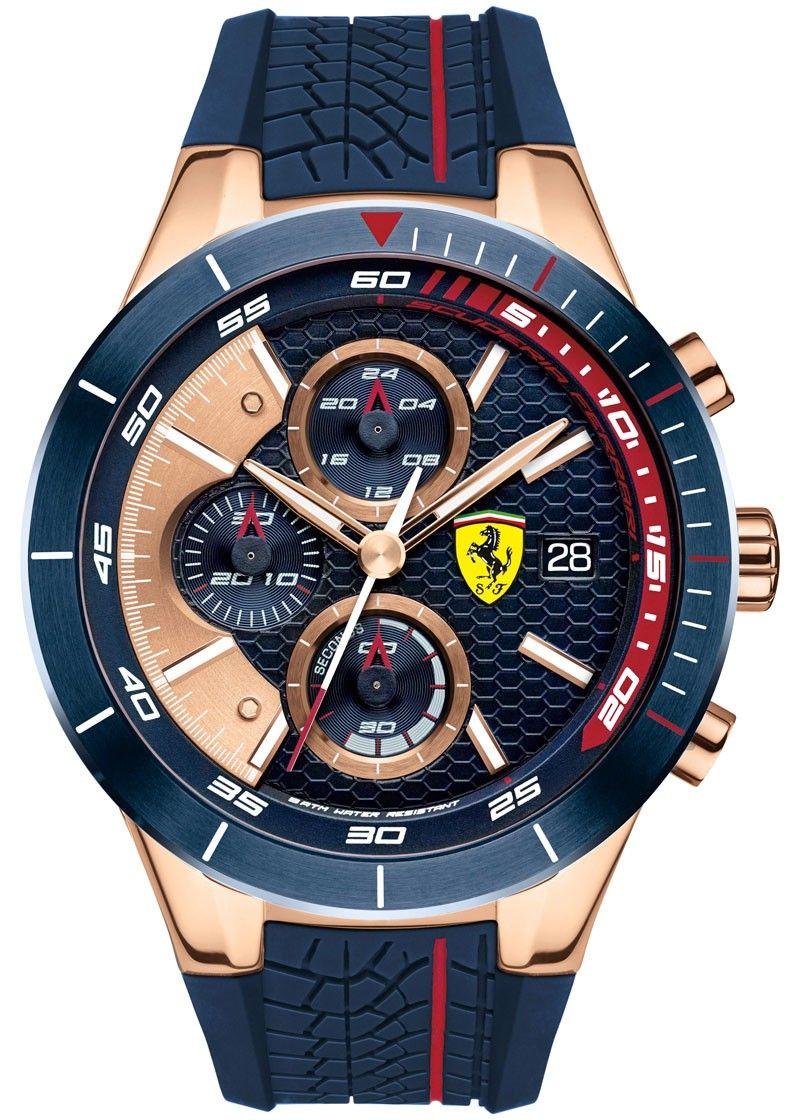 Scuderia Ferrari Redrev Evo Sf830297 Horloges Man Mannenhorloges Horloges