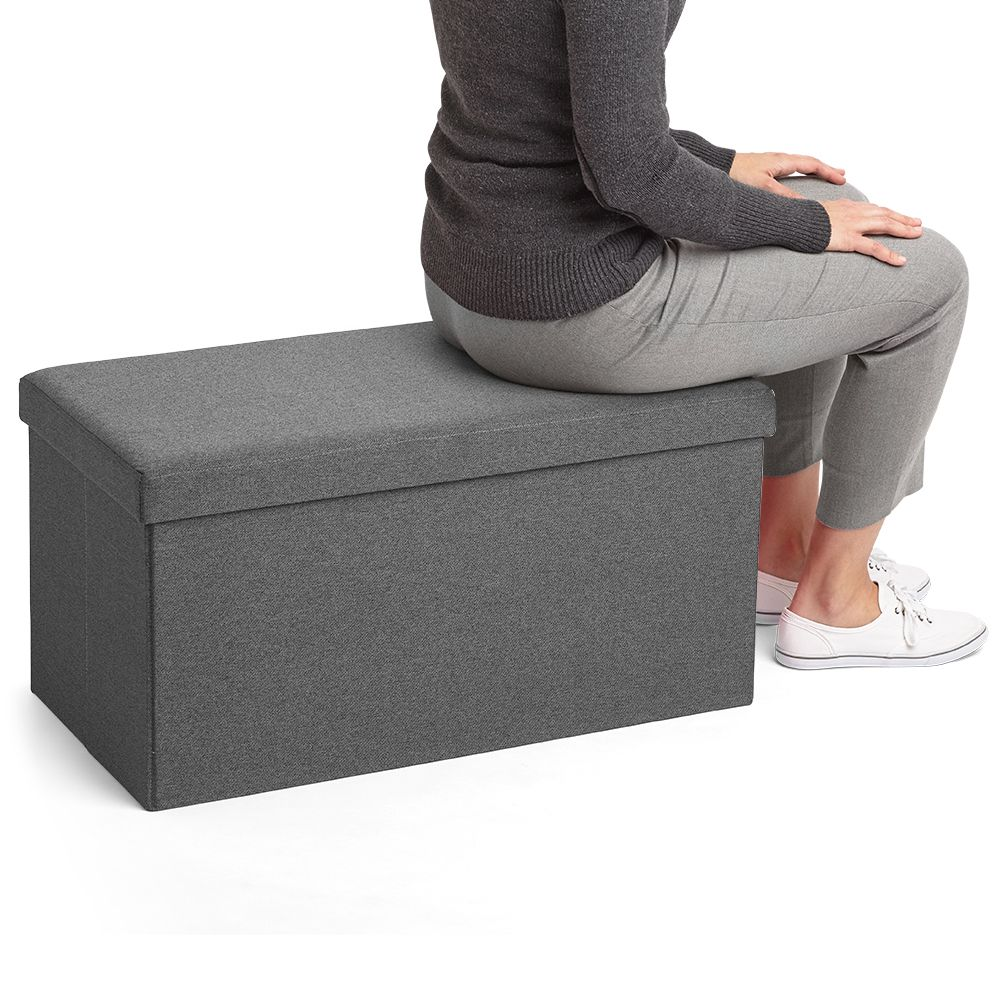 grays office supplies. Poppin Dark Gray Box Bench   Cool And Modern Office Supplies Furniture #workhappy Grays D