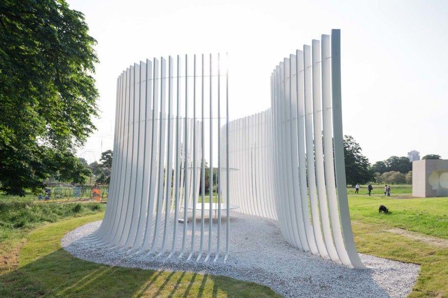 Bjarke Ingels Unveils His Serpentine Gallery Pavilion Pavilion Architecture Pavilion Design Architecture