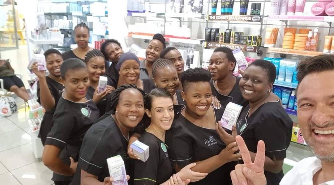 Wow What A Gem Salon Sorbet Group Polokwane Mall Of The North Is Amazing Visit This Beautiful Professional Skin Centre And Skin Center Rapid Lash Gem Salon