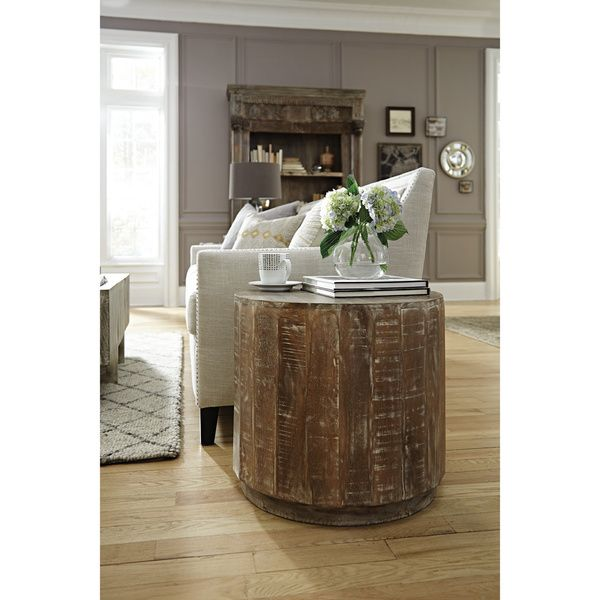 Kosas Home Cannie Patina Mango Wood End Table  Dark Finish   Brown. Kosas Home Cannie Patina Mango Wood End Table  Dark Finish   Brown