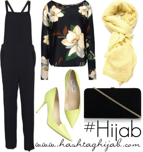 Hashtag Hijab Outfit #214 who says we can't wear jumpsuits? :P