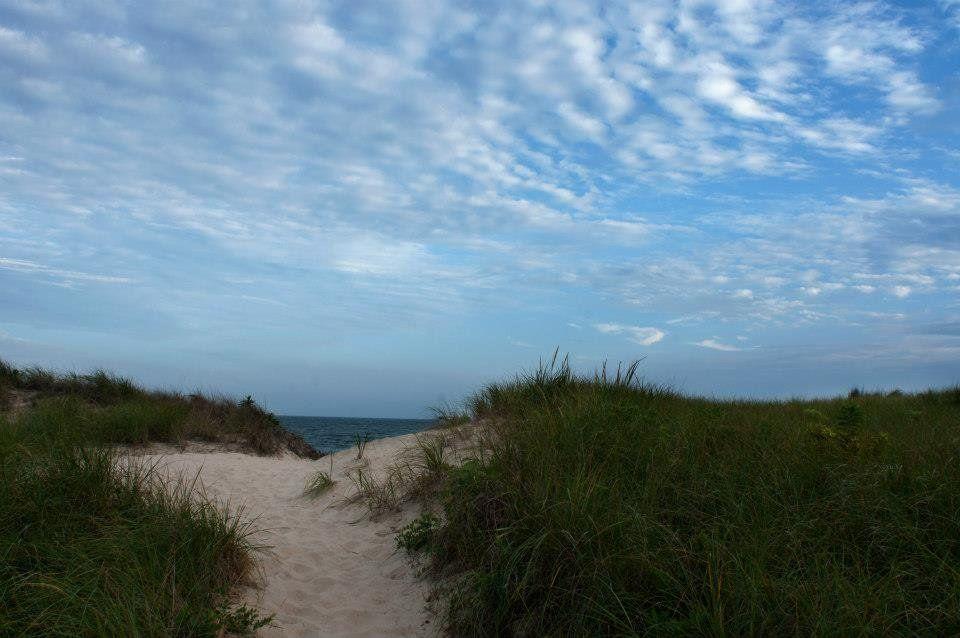 A beautiful shot of the Hamptons.
