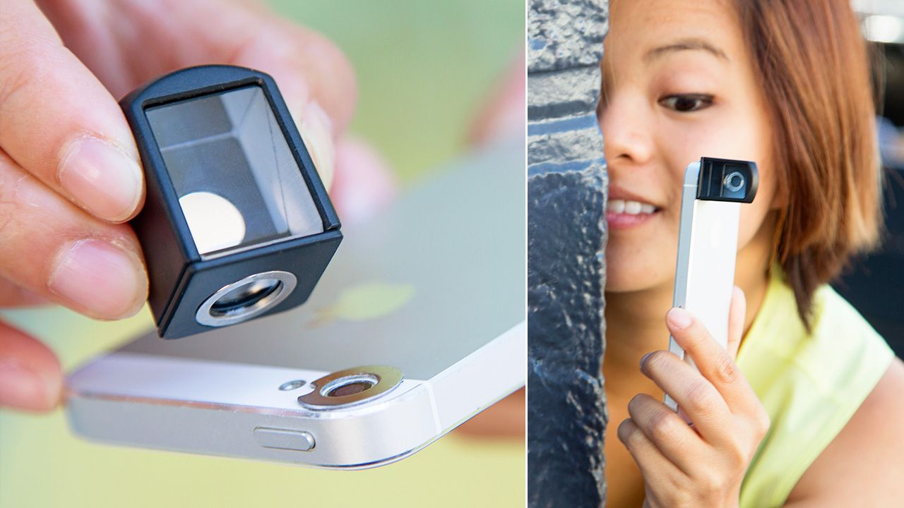An iPhone Camera Periscope Makes Stalking a Breeze Spy