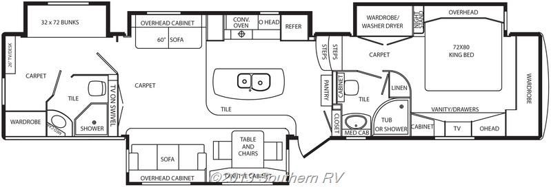 Merveilleux Maybe Instead Of Second Bathroom  Third Bedroom Mobile Suites Manhattan   2  BATH! Fifth Wheel For Sale From Southern RV In Jonesboro Georgia